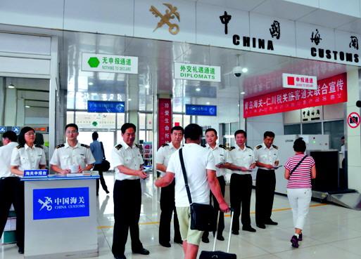 9月11日,青岛海关与韩国仁川海关