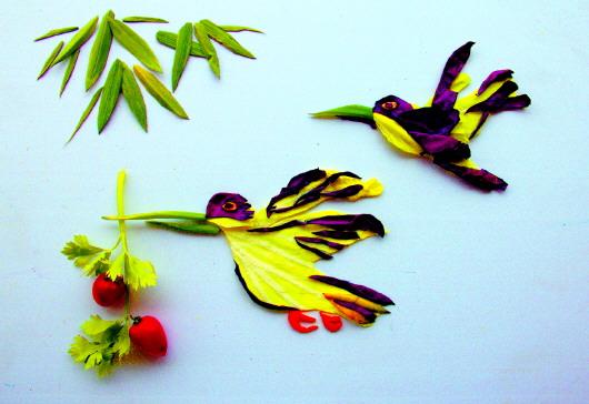 丁海俊的蔬菜创意摄影