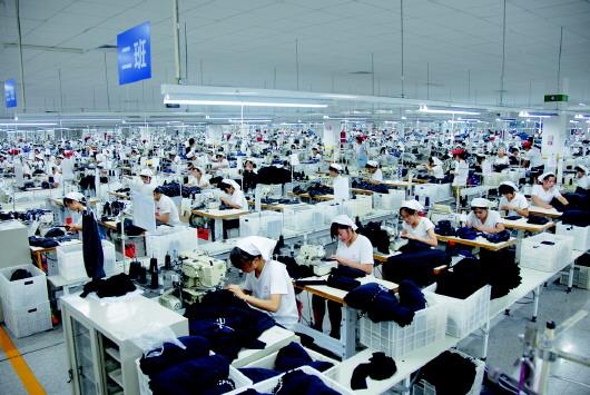 总投资8亿元的桑莎高档针织服装项目优化了产品