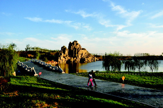 △国家4a级旅游景区——汶上莲花湖湿地