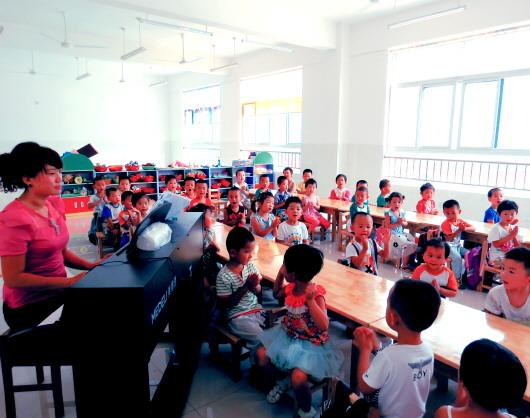 幼儿园休息的简谱123