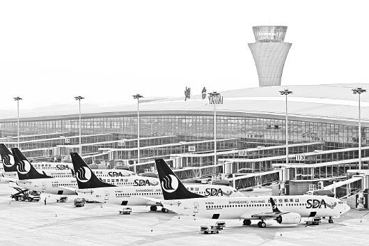 烟台蓬莱国际机场正式启用