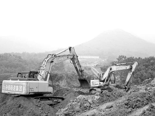 济青高铁昨起开建图片