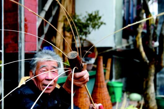 芦苇杆编织图片