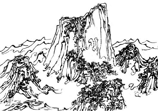 华山简笔画