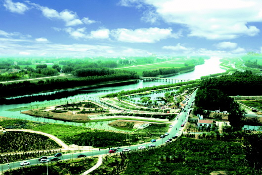 △禹城市徒骇河国家湿地公园风景区