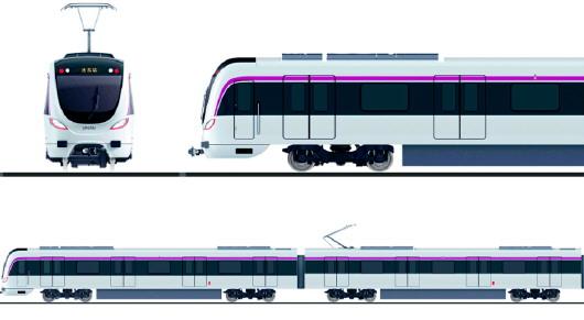 济南地铁r1线车辆设计方案公布-大众日报数字报