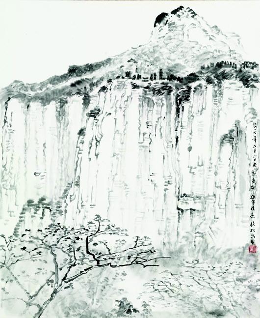 岭南书山水风景图片