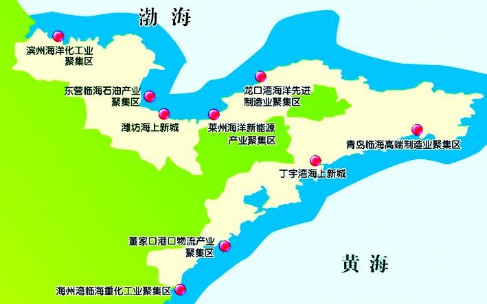 滨州北海新区地图