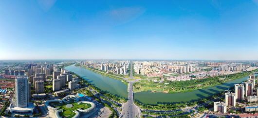 顶级人体艺术色色�_聊城空气质量优良,徒骇河在蓝天下穿城而过.