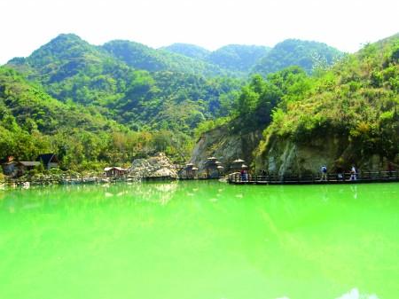 山东泰安秋季风景