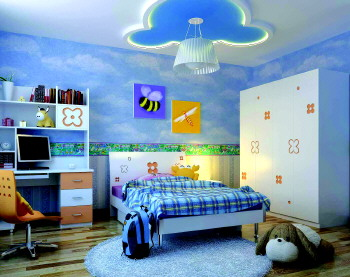 让儿童家具可爱又安全-生活日报数字报