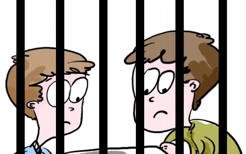 警察图片卡通最简单