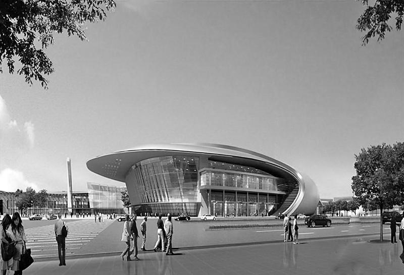 济南西客站片区文化中心 会展中心方案选定