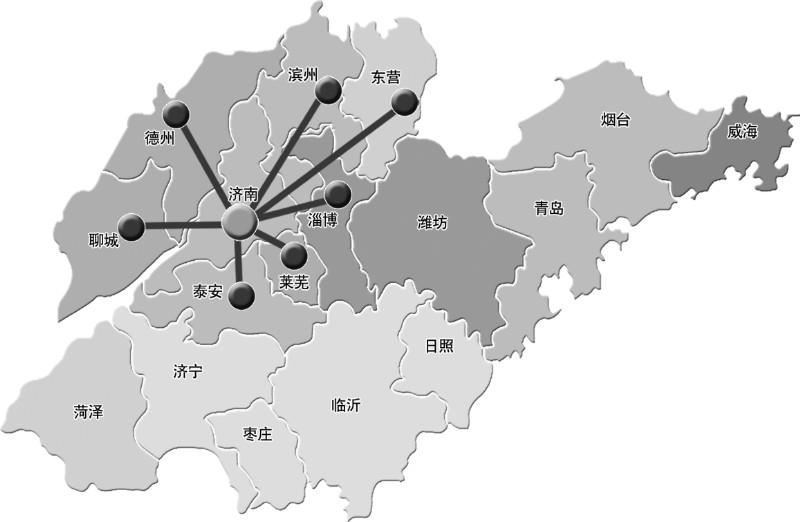 济南都市圈城际铁路线网初定——